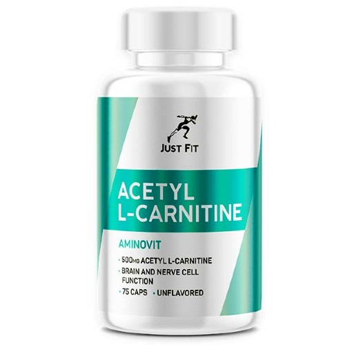 JUST FIT Acetyl L-Carnitine, 75 кап