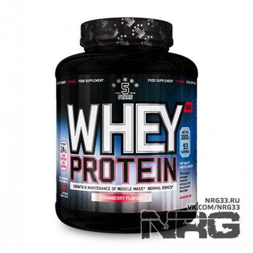 Купить NUTRIVERSUM 5STARS Whey Protein 74%, 3 кг, 12640