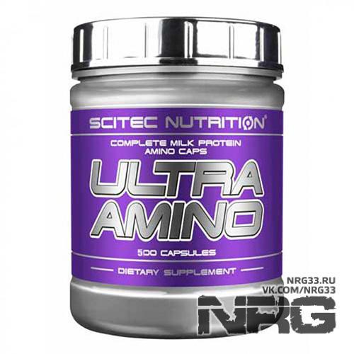 Купить SCITEC Ultra Amino, 500 кап, 617