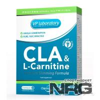 VPLAB CLA plus L-carnitine, 45 кап