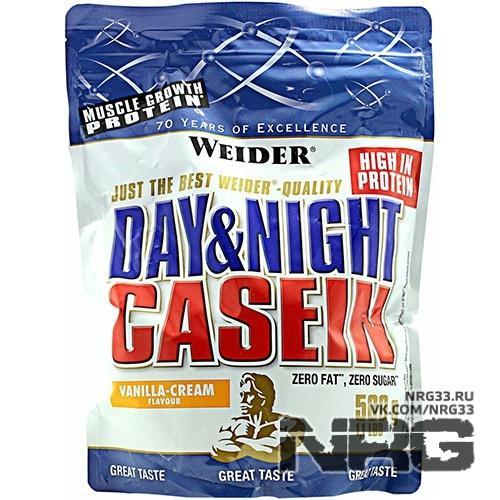 Купить WEIDER Day & Night Casein, 0.5 кг, 4322