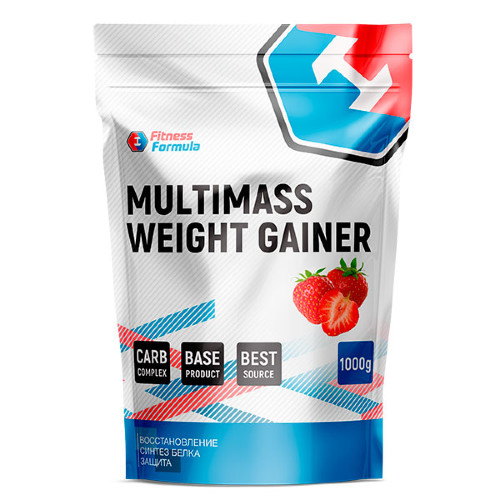 FITNESS FORMULA Multimass Weight Gainer, 1 кг