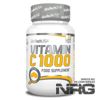 BIOTECH Vitamin C 1000mg, 30 таб