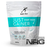 JUST FIT Gainer Start, 3 кг