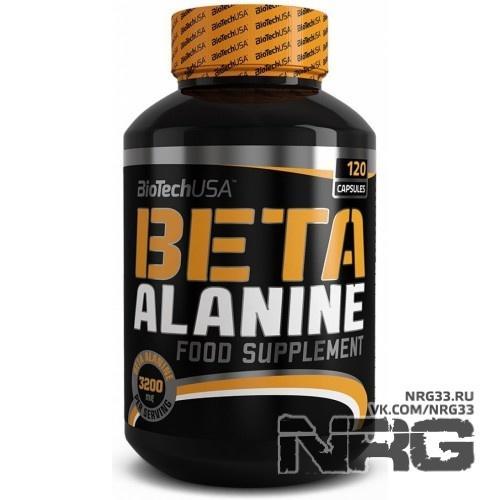 Купить BIOTECH Beta Alanine, 120 кап, 13461