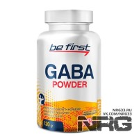 BE FIRST GABA powder, 120 г