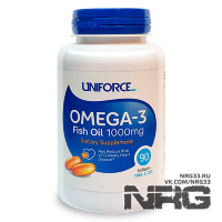 UNIFORCE Omega-3 1000 mg, 90 кап