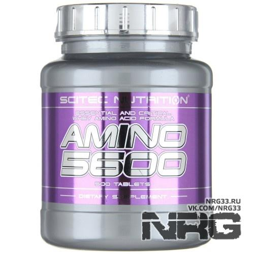 Купить SCITEC Amino 5600, 500 таб, 609