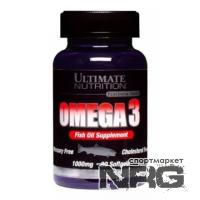 ULTIMATE Omega 3 softgels, 90 кап