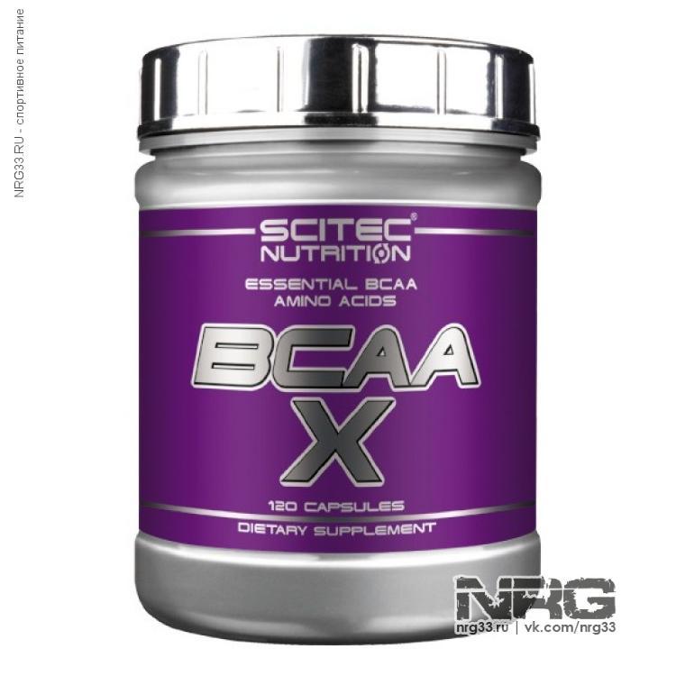 Купить SCITEC BCAA-X, 330 кап, SCI0930
