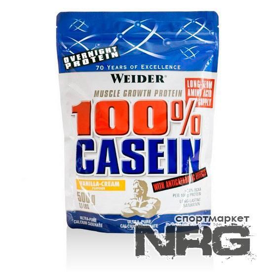 Купить WEIDER 100% Casein, 0.5 кг, 4320