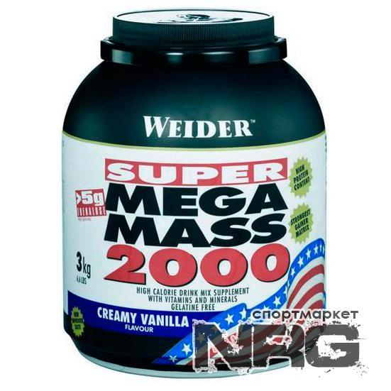 Купить WEIDER Mega Mass 2000, 3 кг, 1772