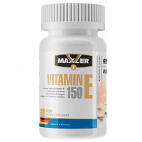 MAXLER Vitamin E Natural form 150mg, 60 кап