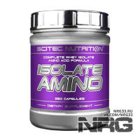 SCITEC Isolate Amino, 250 кап