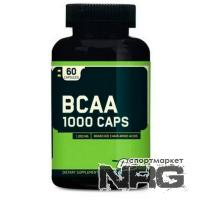 OPTIMUM NUTRITION Bcaa 1000, 60 кап