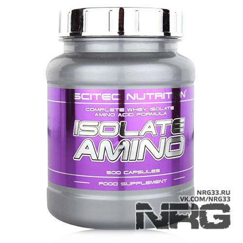 Купить SCITEC Isolate Amino, 500 кап, 614