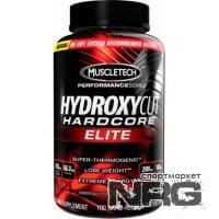 MUSCLETEACH Hydroxycut Hardcore Elite, 100 кап