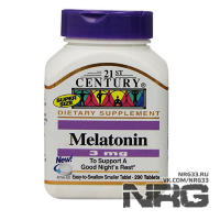 21ST CENTURY Melatonin 3mg, 200 таб