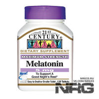 21ST CENTURY Melatonin 5mg, 120 таб