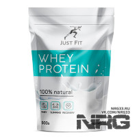 JUST FIT 100% Natural Whey Protein, 0.9 кг