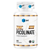 SNT GOLD Zinc Picolinate 22mg, 90 кап