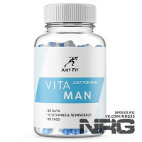 JUST FIT Vita Man, 90 таб