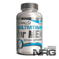 BIOTECH Multivitamin for Men, 60 таб