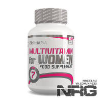 BIOTECH Multivitamin for Women, 60 таб
