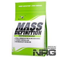 SPORTDEFINITION Mass Definition (30% Whey Protein), 1 кг