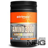 STRIMEX Amino 2000 Gold Edition, 300 таб