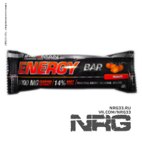 IRONMAN Energy Bar, 50 г (с гуараной)