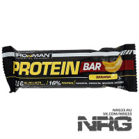 IRONMAN Protein Bar, 50 г (с коллагеном)