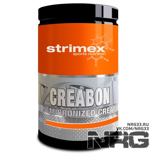STRIMEX Creabon 100% micronized creatine, 500 г