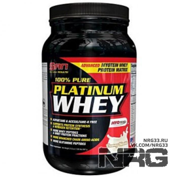 Купить SAN 100% Pure Platinum Whey, 0.9 кг, 4637