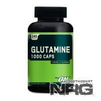 OPTIMUM NUTRITION Glutamine 1000mg, 240 кап