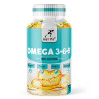JUST FIT Omega 3-6-9, 90 кап