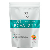 JUST FIT 100% Instant BCAA 2:1:1, 400 г