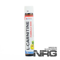 FITNESS FORMULA L-Carnitine 3000 mg, ампула 25 мл