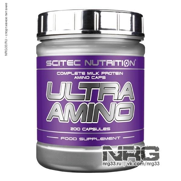 Купить SCITEC Ultra Amino, 200 кап, SCI0447