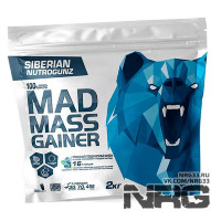 SIBERIAN NUTROGUNZ Mad Mass Gainer, 2 кг