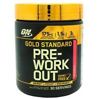 OPTIMUM NUTRITION Gold Standard PRE-Workout, 30 порц