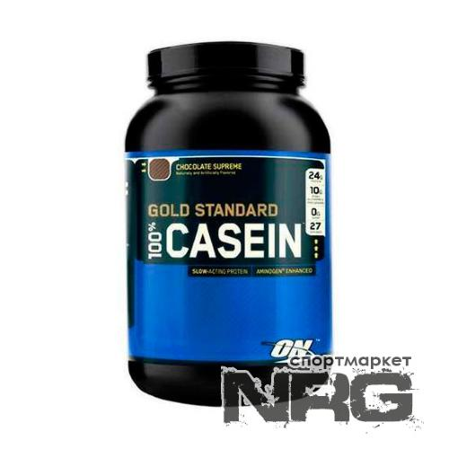 OPTIMUM NUTRITION 100% Casein Protein, 0.9 кг