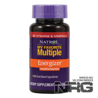 NATROL My Favorite Multiple Energizer, 60 таб