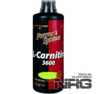 POWER SYSTEM L-Carnitine 3600 mg, 1000 мл